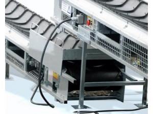 Sammankopplingskabel för seriekoppling av transportband